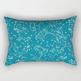 Animal Constellations by Andrea Lauren  Rectangular Pillow