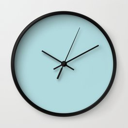 Simply Pretty Blue Wall Clock