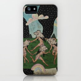 Dance of the Bears iPhone Case
