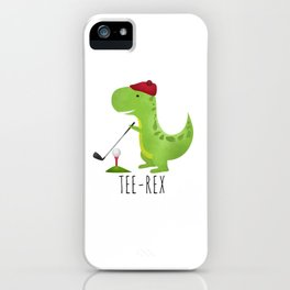 Tee-Rex iPhone Case