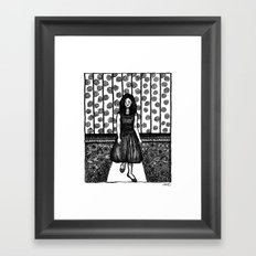 minefield Framed Art Print