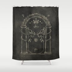 Lord of the Rings: Gates of Moria Shower Curtain