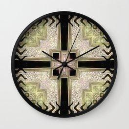 Zlata Geometrica Wall Clock
