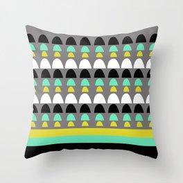Naive IX Throw Pillow