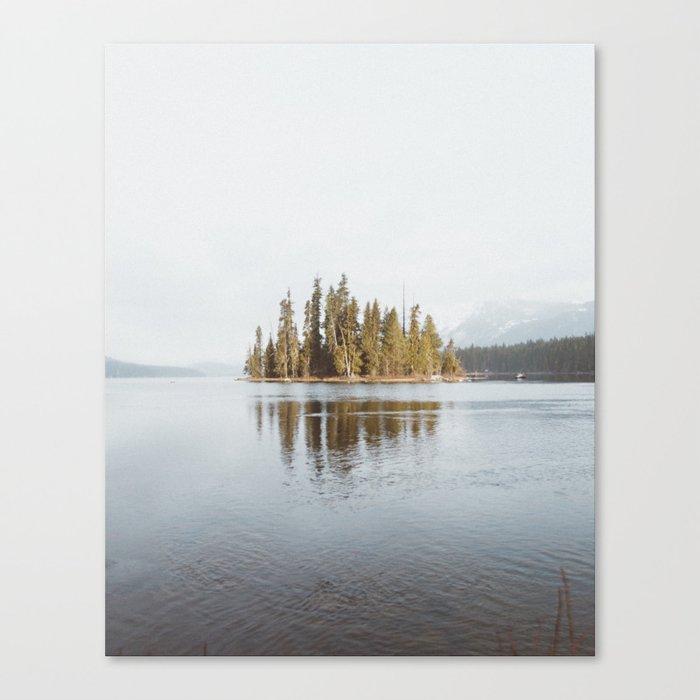 Lake Wenatchee Canvas Print