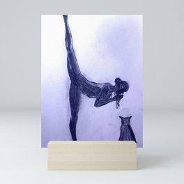 Yoga Sara 6 Mini Art Print