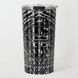 Design in Black and White Travel Mug