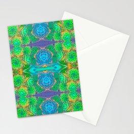 Art Nouveau Cactus Stationery Cards