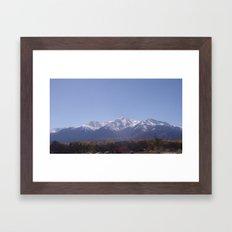 Nice Fall Day Framed Art Print