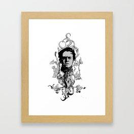 Emma Circles Framed Art Print