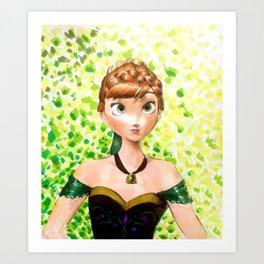 anna art Art Print