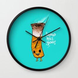 Imma Kill You Wall Clock