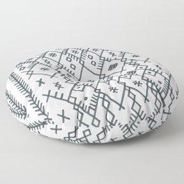 boucherouite - vintage Moroccan pattern Floor Pillow