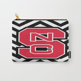 NCSU Chevron Carry-All Pouch