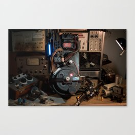 """Ghostbusters - """"Workbench"""" 2  Canvas Print"""