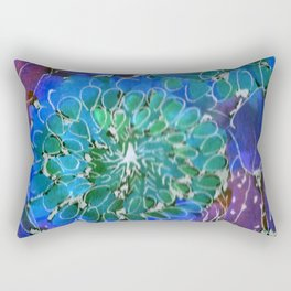 The Changing Colors of Succulents - 2 Rectangular Pillow