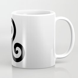 grey triskele Coffee Mug