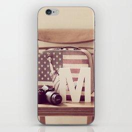Travel Kit  iPhone Skin