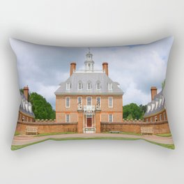 Colonial Williamsburg  Governers Palace Rectangular Pillow