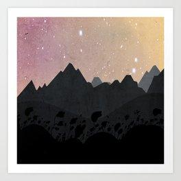 Olber, Invisible Stars Art Print