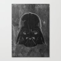 darth vader Canvas Prints featuring Darth Vader by Some_Designs
