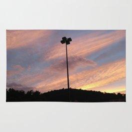Parking Lot Sunset Rug