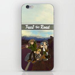 Trust the Road iPhone Skin