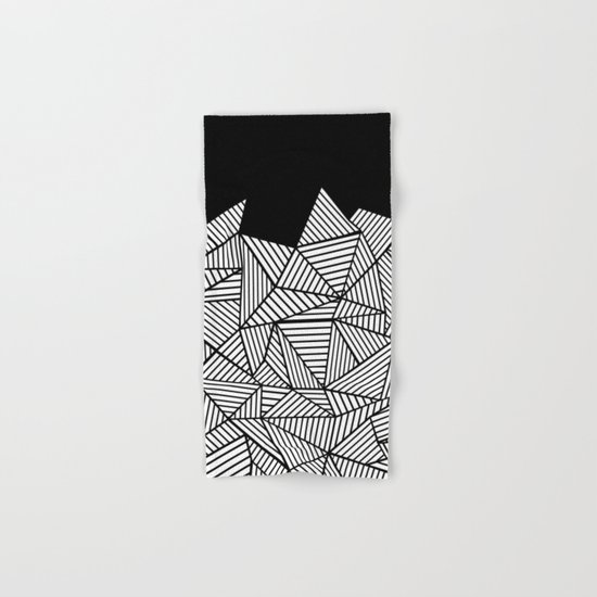 Abstraction Mountain Hand & Bath Towel
