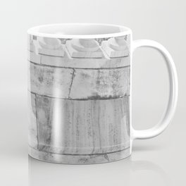 The Girl In The Marble Garden Coffee Mug