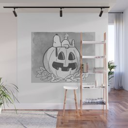 Snoopy Halloween Wall Mural