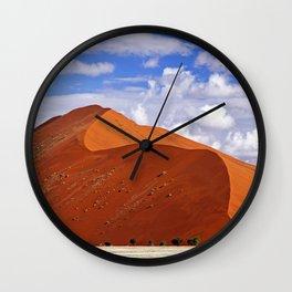 Beautiful Namib desert, Namibia Wall Clock