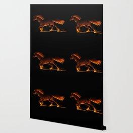 Fire Trail Horse Wallpaper