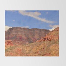 Virgin River Canyon Throw Blanket