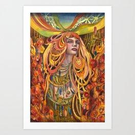 Night Blossom Art Print