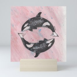 Orca Killer Whales Mini Art Print