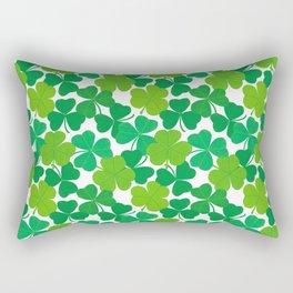 Shamrock Pattern Rectangular Pillow