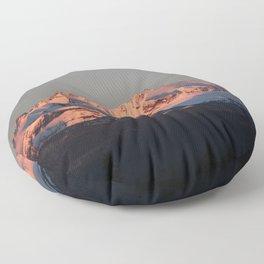 Alpenglow Floor Pillow