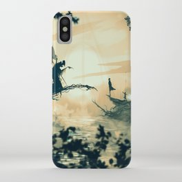 Deahtly Hallows (H POTTER) iPhone Case