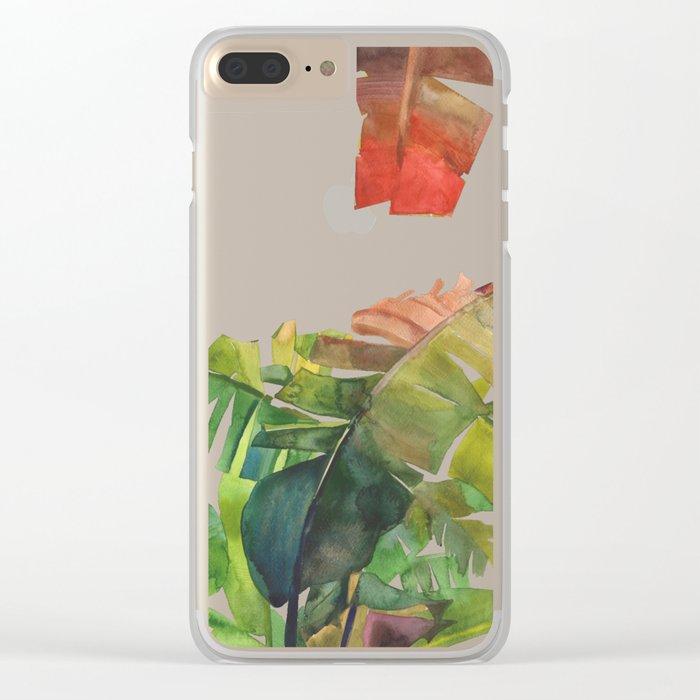 The Jungle vol 5 Clear iPhone Case