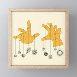 Solar System Framed Mini Art Print