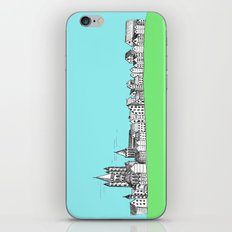 sketchy town iPhone & iPod Skin