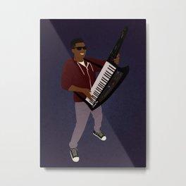 The KiiBoard Kid (Kola Bello) Metal Print