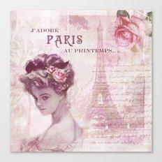 Springtime in Paris I Canvas Print
