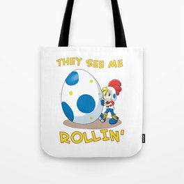 Billy Hatcher - They See Me Rollin' Tote Bag