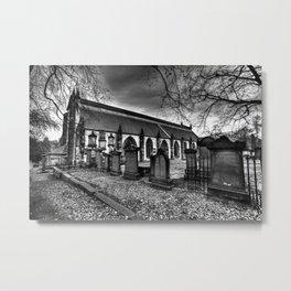 Greyfriars Kirk Edinburgh Metal Print