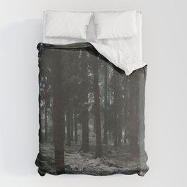 Moody Forrest in Norway Duvet Cover