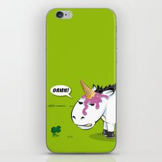 Damn! Bob, the Unlucky Horse! iPhone & iPod Skin