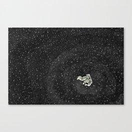 ALONE AT NIGHT Canvas Print