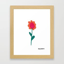 Flower 5 Framed Art Print