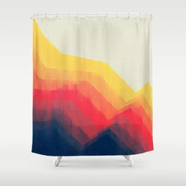 Sounds Of Distance Shower Curtain